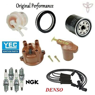 For Complete Tune Up Kit Cap Rotor Filters Wire plugs Toyota Pickup 80-83