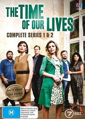 The Time Of Our Lives: Complete Series 1 & 2 [7 Dvd Box Set, Season, Sealed New
