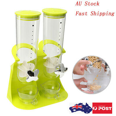 Cereal Candy Dispenser Plastic Cereal Dispenser Machine Dry Food Dispenser