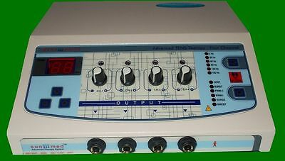 New Electronic 4 channel Multi - Current Stimulator Machine Therapy @#GF87&^%