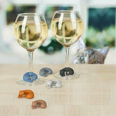 Fred & Friends Wine Lives Cat Wine Markers