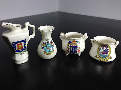 Job lot mixed Crested ware coronet carmen carlton arcadian some damage to all