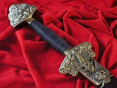 Viking Sword With An Ornate Hilt And With Scabbard (3204/v)