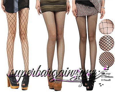 New Women Ladies Fishnet Net Pattern Burlesque Hoise Pantyhose Black Tights
