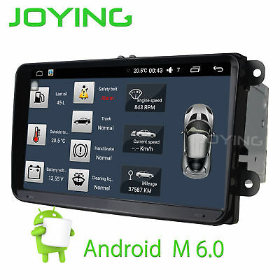 9'' Joying android6.0 Full Touch Screen Player Car Radio Stereo for Volksw-agent