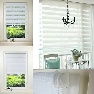 2017 New Double Zebra Roller Shades Home Office PVC European Style Window Blind