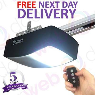 Automatic GARAGE DOOR OPENER Motor Electric Retractable DYMATIC Operator 1000N