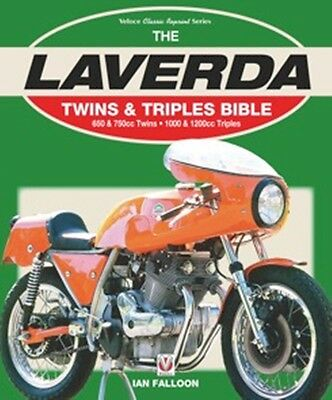 Laverda Twins & Triples Bible book paper