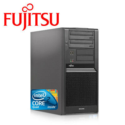 Fjitsu Celsius W370, Q8400 Intel Core2Quad, 6GB RAM, 250 GB HDD, DVD-RW, PC