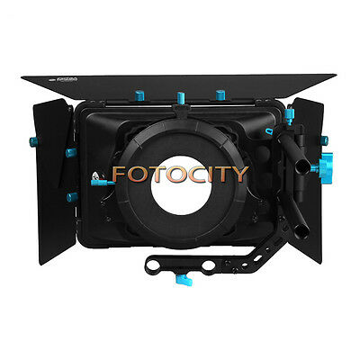 FOTGA DP3000 Matte Box M3 Swing Away Quick Lens Change For 15mm Rod DSLR Rig New