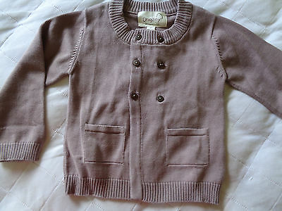 NEW, Toddler Girl's Lightweight Sweater, All Cotton, Size 2T, by Origani