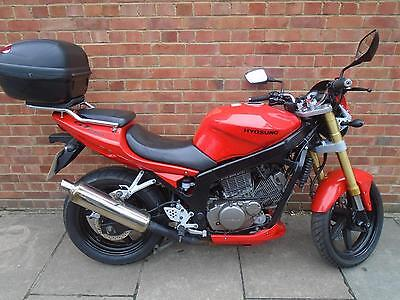 2009 Hyosung Gt 250 Comet Full Service History A2 Compatible