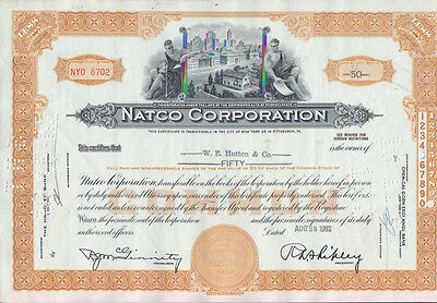 1 x NATCO CORPORATION, 1 x BUILDERS INVESTMENT GROUP