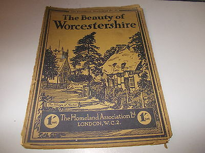 Ther Beauty of Worcestershire camera pictures of the County First published 1929