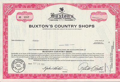 Buxton`s Country Shops