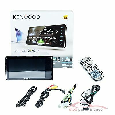 "Kenwood DDX917WS 7"" 2-Din Wi-Fi Apple CarPlay Android Auto AVReceiver Car Stereo"