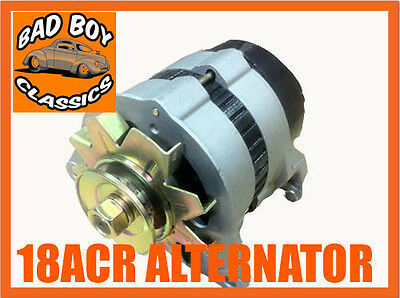 Brand New 18ACR 45Amp Alternator, Pulley & Fan FORD ESSEX V6 L/H