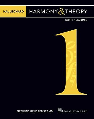 Keyboard piano instruction books cds video musical hal leonard harmony theory part 1 diatonic music instruction book 000312062 fandeluxe Gallery