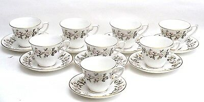 Royal Worcester TORQUAY Demi Tasse Cup & Saucer