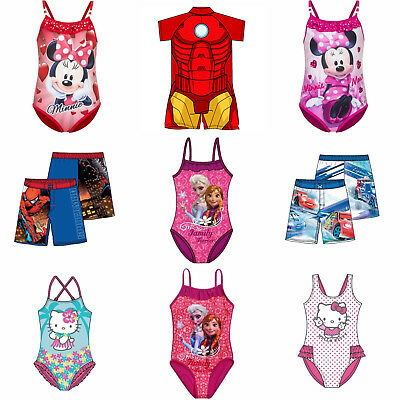 Childrens Swimsuit Surf Suit Swimming Costume Kids Swimwear Age 1-10 Years