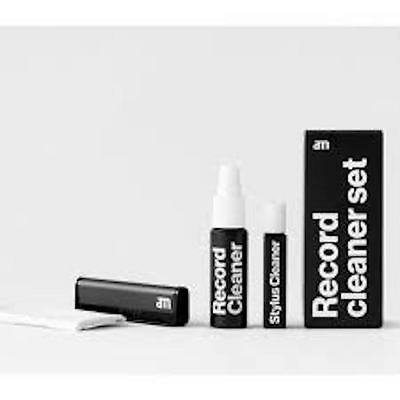 AM Record Cleaner Set - Fluid, Brush, Stylus Cleaner  *NEW*