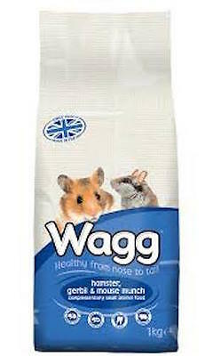 Wagg Hamster, Gerbil and Mouse Munch 1kg