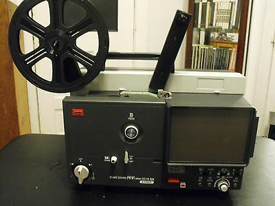 ELMO Hi ViSion SC 18 Super 8 PROJECTOR - SILENT no SOUND AS IS