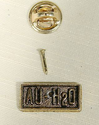 1964 Barry Goldwater 10K Gold Plated Au-H20 Pin Tie Tack Lapel Pin
