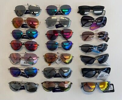 Wholesale Lot of 100 Pairs- FGX Fashion Sunglasses 100% UVA & UVB New