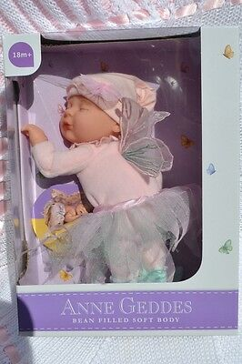"PJs 💗 ANNE GEDDES 💗 BABY FAIRY SOFT BODY DOLL FOR REBORN / PLAY 💗 9"" 23cm NEW"