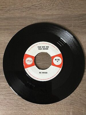 "The Virtues-Your Wife And Your Mother, 7"" vinyl ska UK (Island) WI 196"