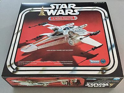 X-Wing vintage Fighter Complete  Boxed Star Wars Kenner (1978)