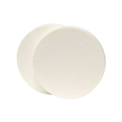 Paquet 5 Éponges Rondes Applicateur Fond De Teint Maquillage Couleur Blanc