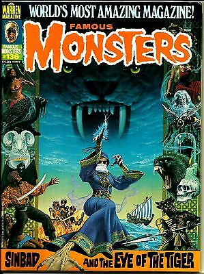 Warren Magazine Famous Monsters Of Filmland #136 Ex Condition