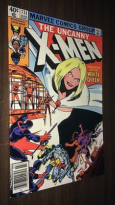 UNCANNY X-MEN #131 -- 1st Appearance WHITE QUEEN -- VF- Or Better
