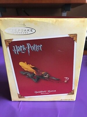 HARRY POTTER Quidditch Match HALLMARK 2005 ORNAMENT in Box Free Shipping
