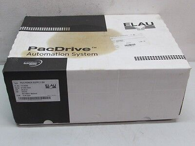 Elau PS-5 Power Supply iSH PacDrive HW:845702 13A 480V 13130265 unused OVP