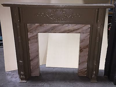 "Vintage Fireplace Mantel  ""m524"""