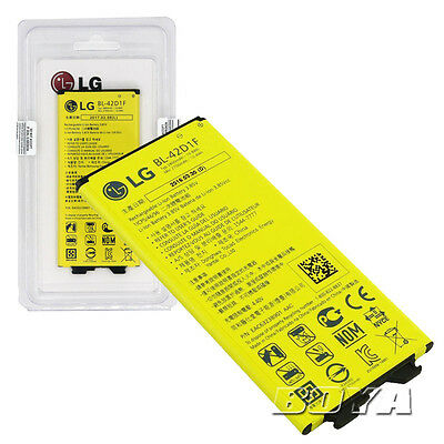 Original 2800mAh replacement battery for LG G5 cellphone BL-42D1F+retail package