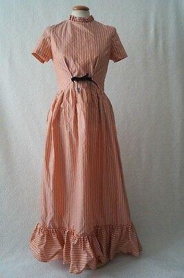 Vintage 70s ex theatre victorian steampunk dress Size 8-10