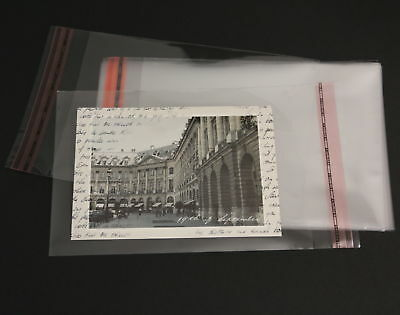 2000 Pieces DIN A6 B6 C6 Protective covers crystal clear for 3D Cards Photos