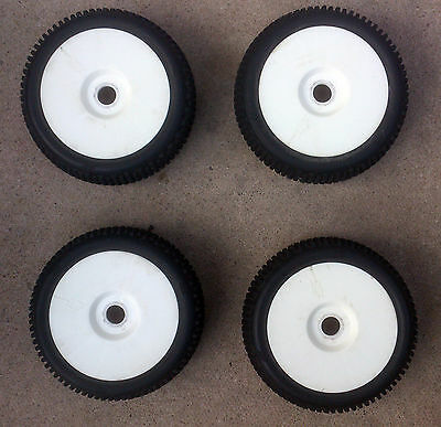 HotBodies 1/8th RC Buggy Wheels & Tyres Mounted x4 Car Rims 17mm Hex Tires