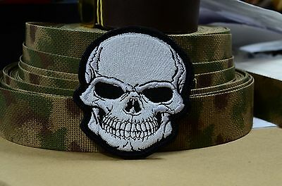 Skull patch, Russian Tactical morale military patch