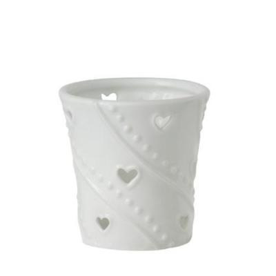Yankee Candle Votive Holder - White Hearts