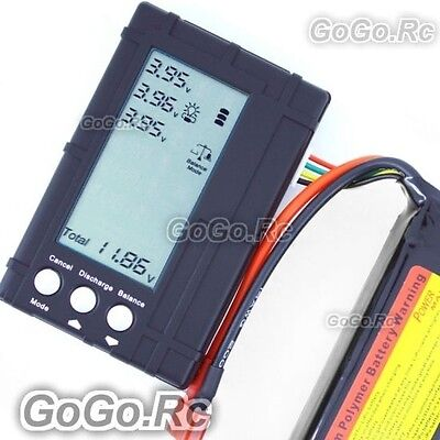 3 in 1 RC Lipo LCD Voltage Meter Tester Balancer  (BC008) original package