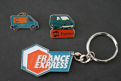 France Express porte clefs et pin's