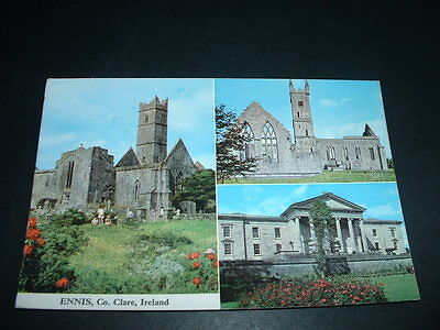 .IRELAND POSTCARD ENNIS Co CLARE