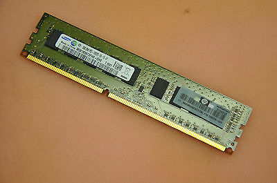 HP 2GB 2x8 PC3-10600E Unbuffered RAM Memory 500670-B21/500209-061/501540-001