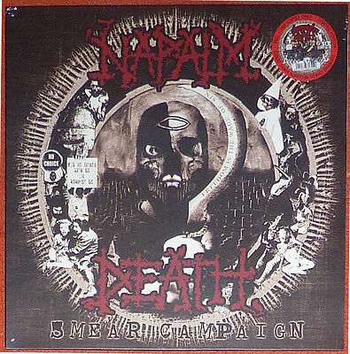 Napalm Death - Smear Campaign on Red vinyl. Limited to 300 copies.