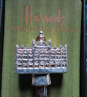 Herrod's Of London Silver Plated Collector's Spoon With Original Box